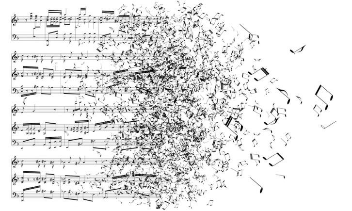 Life in E-minor, e minor, musical notes, life in music, music is life, life is music, mess, composed